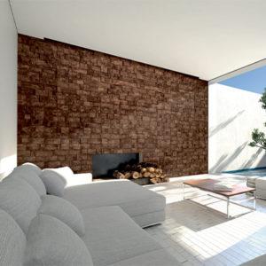 Mur liège Alsapan Bricks 3D