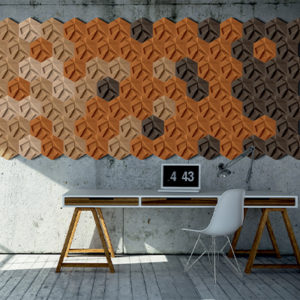 Mur liège Alsapan Hexagon